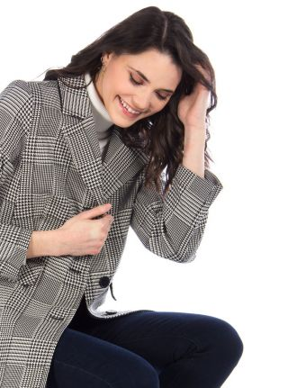Manteau plaid par Portrait