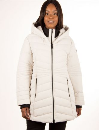Long manteau sportif par Point Zero