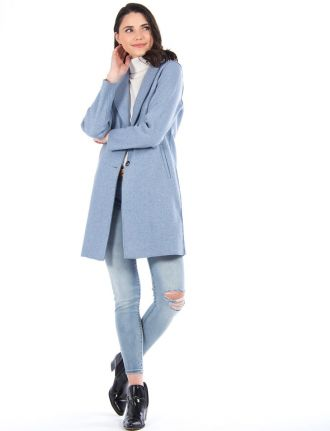 Long manteau à la mode par Only