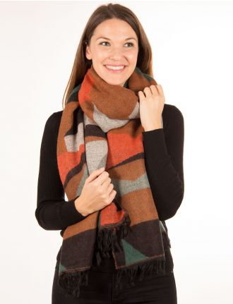 Foulard multicolore par Only